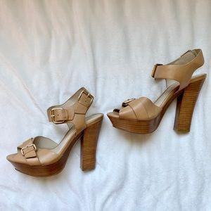 Aldo Tan Sandal Heels